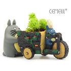 My Neighbor Totoro Planter Pedicab Plant Pot Studio Ghibli Creative Collection