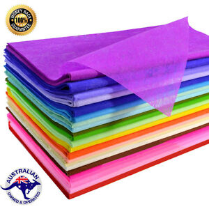 Image is loading Tissue-Paper-Ream-500-SHEETS-MIXED-COLORS-510mmx760mm- 52b80b33ec82