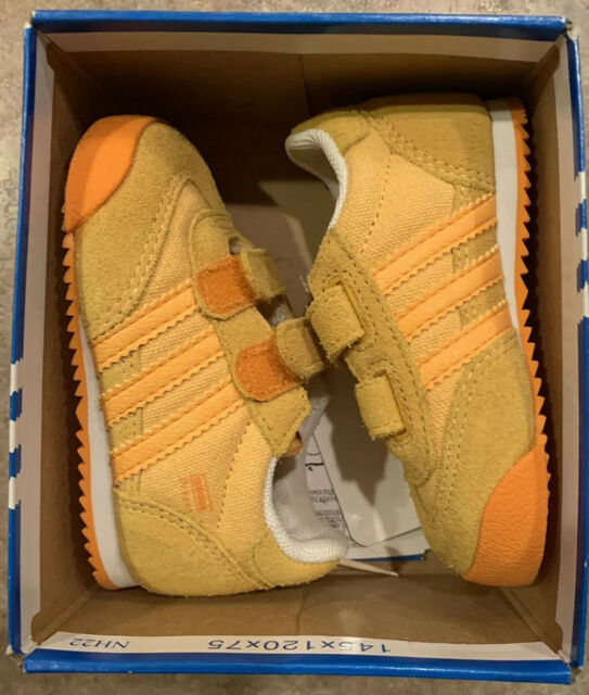 Toddler adidas Dragon Shoes Size 4 School Bus Yellow and Orange ...