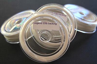 TOP QUALITY UV RESISTANT DACRON BRAIDED BACKING LINE 30lb FULL 90mts 20lb
