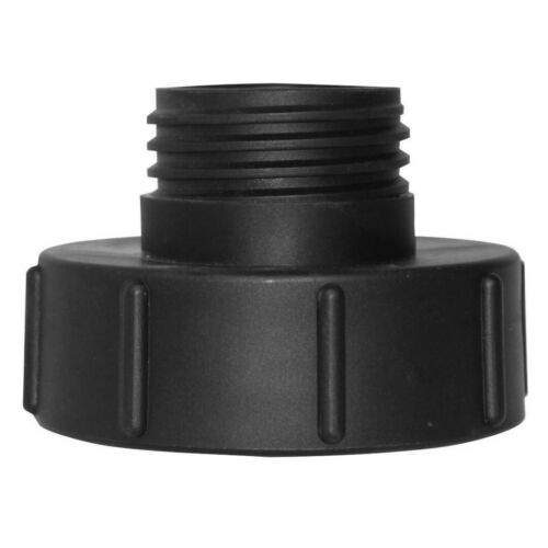 IBC Adapter S100x8 IBC Tank Connector Black New 100mm to Reduce S60x6 60mm