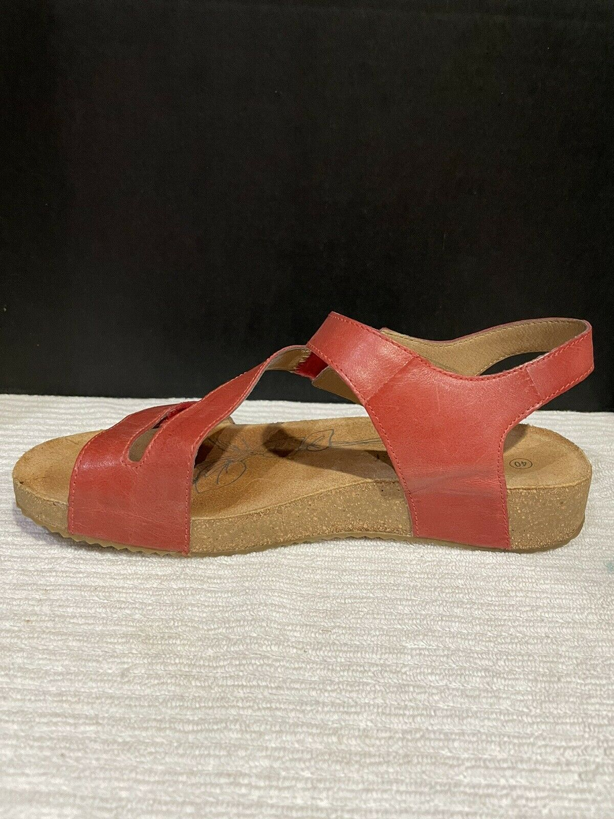 Josef Seibel Tonga  Womens Strappy Sandals In Red - image 5