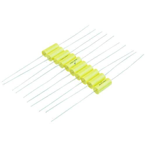 10 X 2.2nf Axial Metallisiert Polypropylenkondensator 630v ±10/%