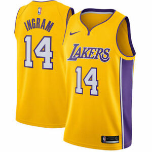163208758 New Nike NBA Los Angeles Lakers Brandon Ingram  14 Swingman Icon ...