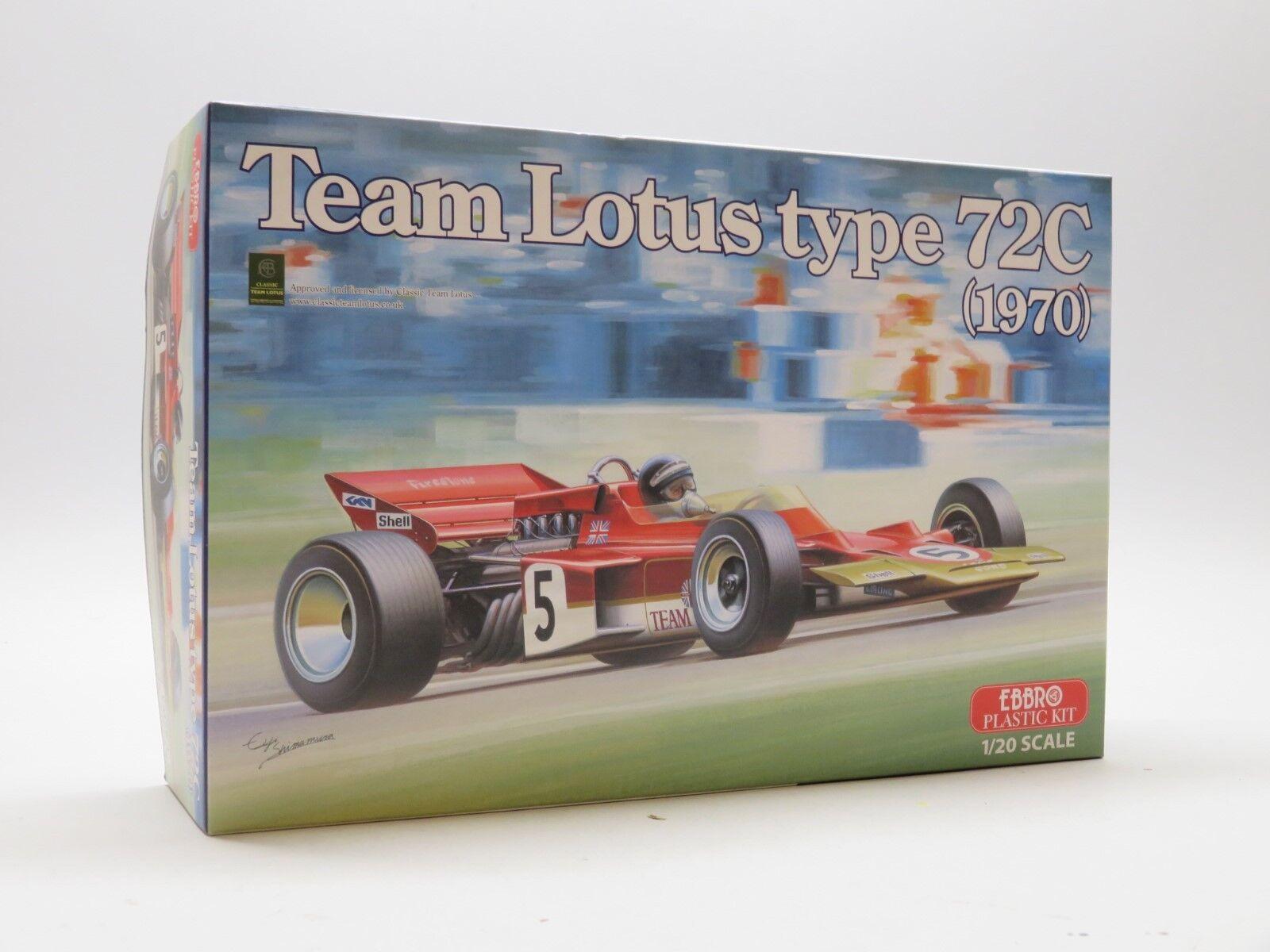 1 20 EBBRO Team Lotus type 72C 1970 EMSF-1 001-5800