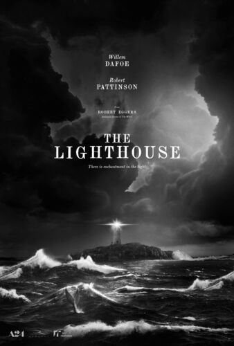 The Lighthouse 2019 Movie Fabric Silk Poster 27x40 inch Horror