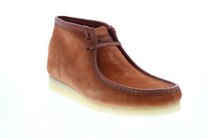Clarks Wallabee Boot 26154818 Mens Brown Suede Lace Up Chukkas Boots