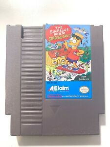 Simpsons Bart Vs. The Space Mutants - ORIGINAL Nintendo NES Game Tested +Working