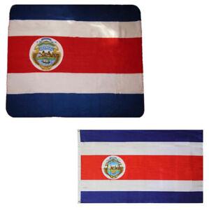 Hüte & Mützen Kleidung & Accessoires 100% QualitäT Großverkauf Kombination Menge Costa Rica Country 127cmx152cm Vlies & 0.9mx5' Eine GroßE Auswahl An Modellen