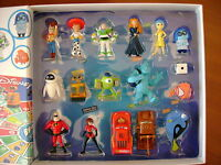 Jeu Complet Pixar Disney Collection Auchan - 16 Figurines Neuf