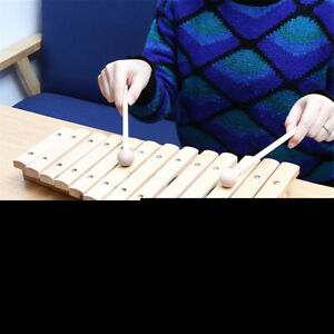 13 Sound Key Musical Xylophone Piano Wooden Percussion Instrument Children  UK!