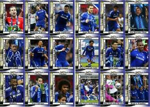 Chelsea FC 2015 Liga de fútbol Copa Final Ganadores Trading Cards