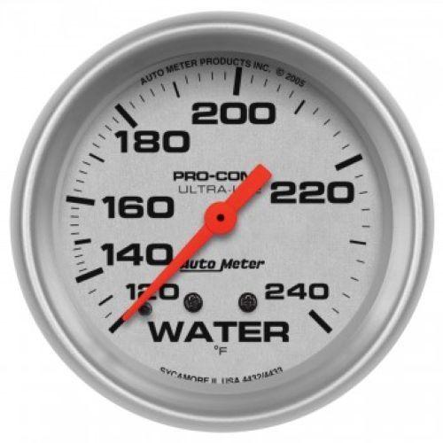 "Auto Meter 4432 2-5//8/"" Ultra-Lite Mechanical Water Temperature Gauge 120-240 °F"