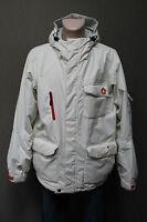 SKI INDUSTRIES Herren Jacke Gr. XL Jacket Winter windproof - waterproof weiss (9