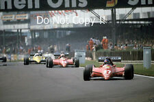 Patrick Tambay & Rene Arnoux Ferrari 126C3 British Grand Prix 1983 Photograph