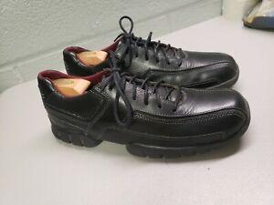 rockport xcs men's casual shoes size 9 leather black  ebay