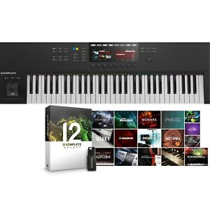 Native-Instruments-Komplete-Kontrol-S61-Mk2-amp-Komplete-12-Select-Software