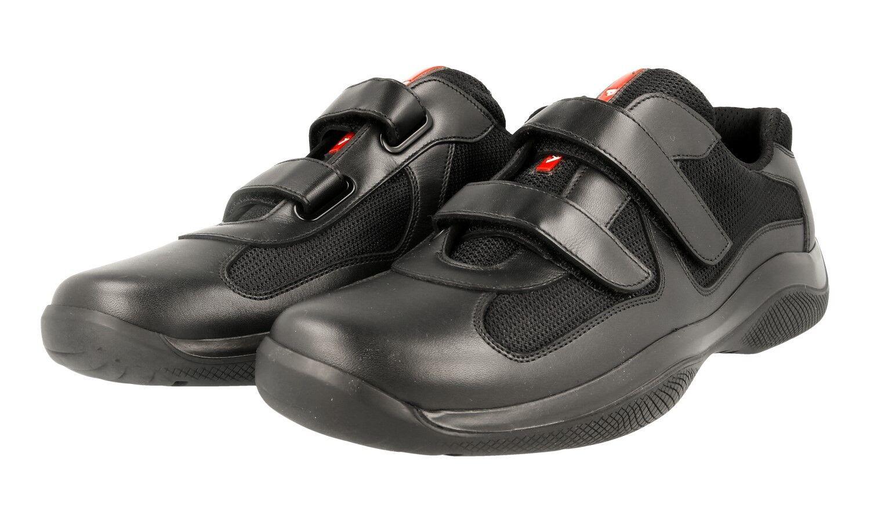 shoes PRADA LUXUEUX 4P0723 black NOUVEAUX AMERICAS CUP 6 40 40,5