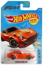 2017 Hot Wheels #174 Factory Fresh Custom Datsun 240Z orange