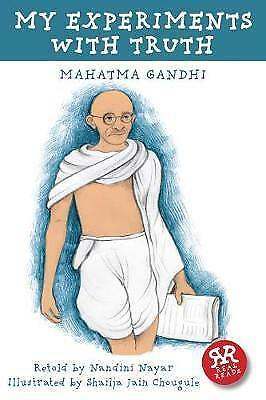 My Experiments with Truth (Real Reads) by Mahatma Gandhi, NEW Book, FREE & FAST