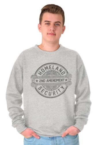 2nd Amendment Homeland Security USA American Firearm Gift Pullover Sweatshirt