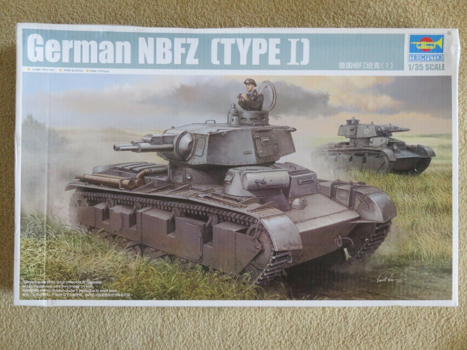 Trumpeter 1 35 scale German NBFZ  (Type 1)