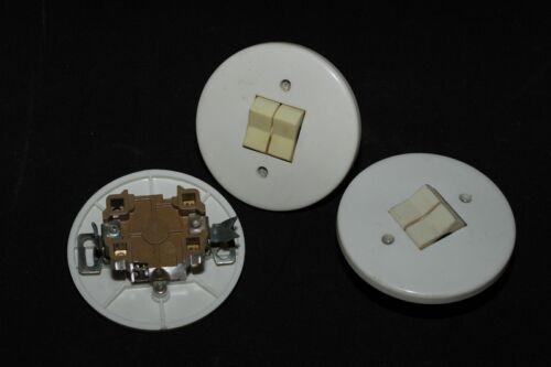 Alter Schalter Unterputz Serienschalter UP Kippschalter DDR Lichtschalter