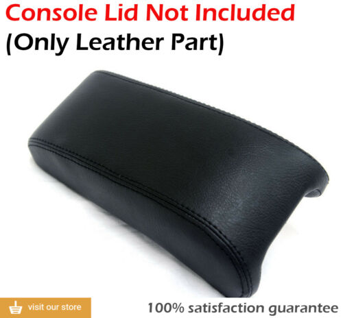 Center Console Armrest Leather Synthetic Cover for Dodge Stratus 01-06 Black