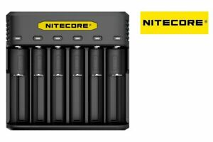 New-Nitecore-Q6-6-Slot-LED-Fast-Battery-Charger