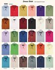 men's basic dress shirt , cotton blend by Milano Moda, Style SG02