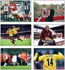 Arsenal Thierry Henry France Legend POSTCARD Set
