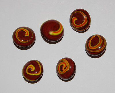 VINTAGE JAPANESE GLASS BUTTONS COLORFUL • 9mm • YELLOW decorative