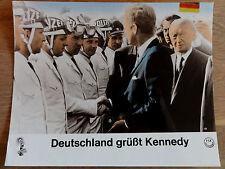 Aushangfoto ** DEUTSCHLAND GRÜßT KENNEDY Adenauer Polizei