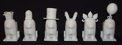 AMONG US ~ Game Figure ~ Interchangeable Tops ~ Paintable ~ 3D printed in USA