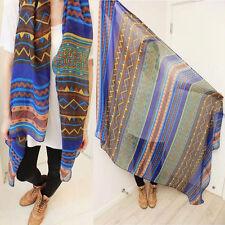 New Pretty Long Soft Women Fashion Chiffon Scarf Wrap Shawl Stole Scarves