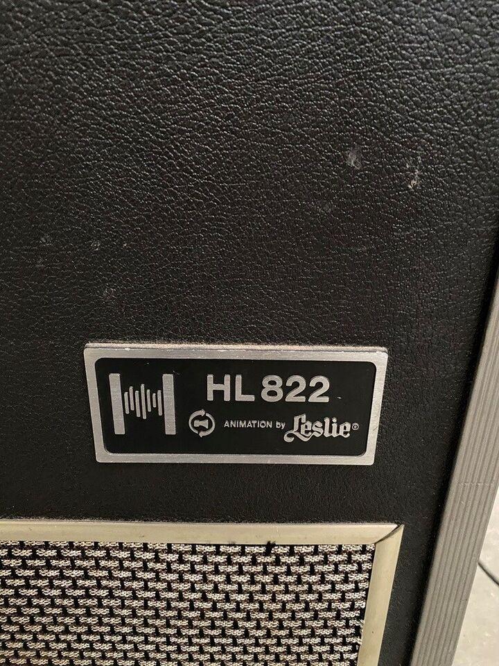 Andet, Leslie HL 822