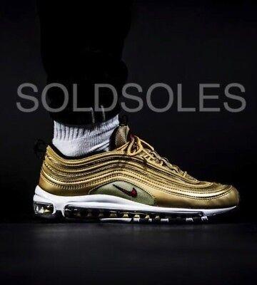 Nike AIR MAX 97 color oro metallico GSJunior Taglie | eBay