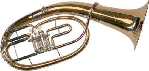 Kugelgelenke Goldmessing Mundrohr Koffer K Glaser Bb Tenor Horn 3 Ventile