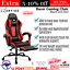 thumbnail 1 - Artiss Gaming Chair Office Computer Leather Chairs Executive Racer Gaming Chairs