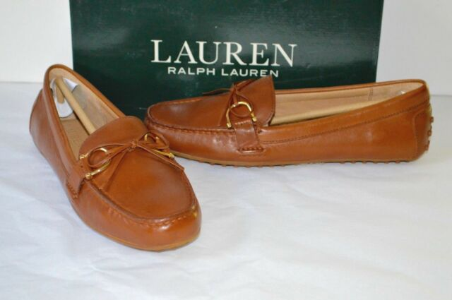 198bcefad7f New  120 Ralph Lauren Briley-FL-CSL Super Soft Leather DP Sad Tan Loafer