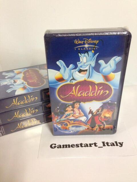 ALADDIN - DISNEY - VHS - NUOVO SIGILLATO VERSIONE ITALIANA