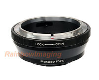 Canon Fd Lens To Fujifilm X-mount X-pro2 X-e2 X-t20 Xt-10 X-t2 X-t1 Adapter Ring