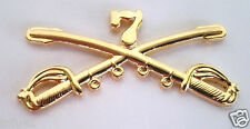 7TH CAVALRY INSIGNIA SWORDS Military Veteran US ARMY Hat Pin 16041 (LARGE) HO LP