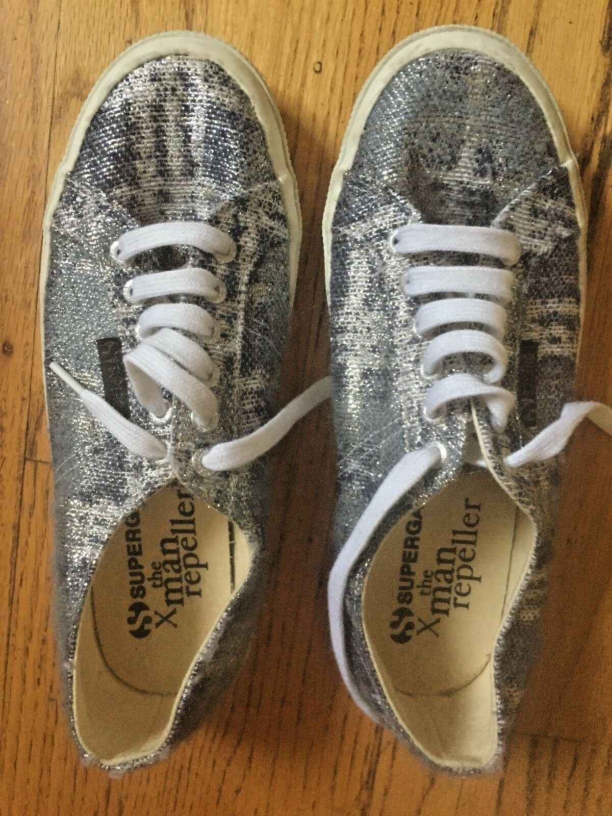 Sale Superga X Man Repeller Woman's 8 1 2 US 39 1 2 EU Lowest price Worn Once