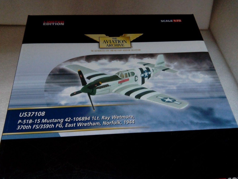 CORGI Aviation 1 72 North North North American p-51 Mustang us37108 4c8ebc