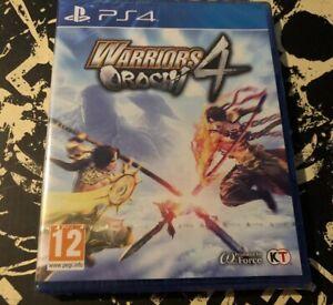 WARRIORS-OROCHI-4-PlayStation-4-PS4-PAL-Hack-amp-Slash-NUOVO-e-SIGILLATO
