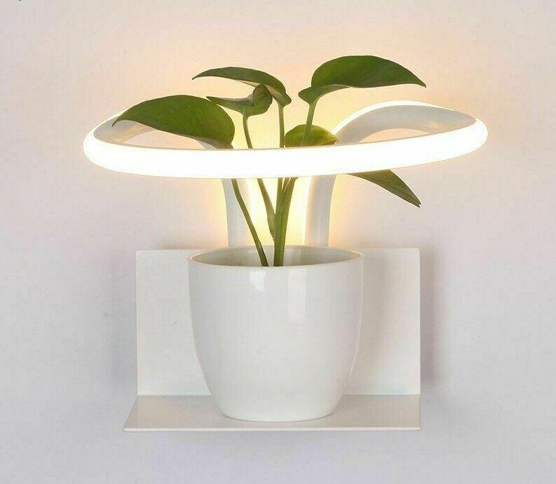 Creative Led Lamps Wall Sconce Pot Lighting Home Art Decor Hallway Night Lights