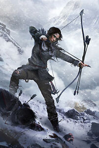 Image Is Loading Rise Of The Tomb Raider Game Poster 5