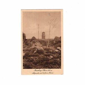 AK-Ansichtskarte-Kreuzberg-Rhoen-Felspartie-mit-hohem-Kreuz-1923