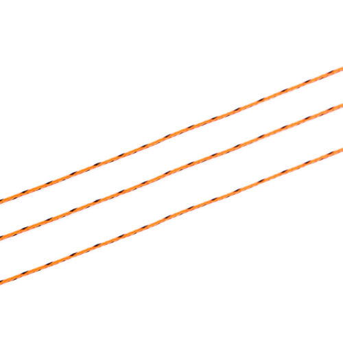 20//30LB Line Backing White Orange Yellow Braided Fly Fishing Trout Line/&Loo A!